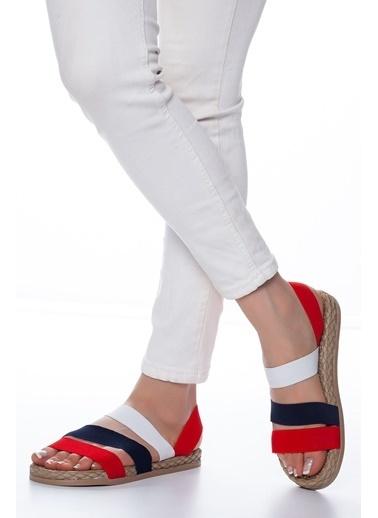 Mask Sandalet Kırmızı